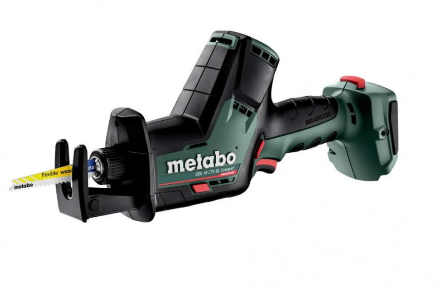Akuotssaag SSE 18 LTX BL Compact karkass, Metabo