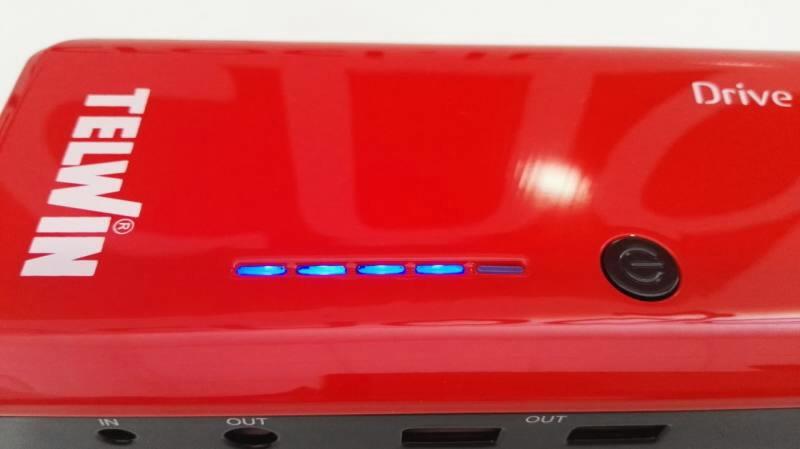 Зарядно-пусковое устройство DRIVE 13000 (Li-Polymer) 12 В, TELWIN