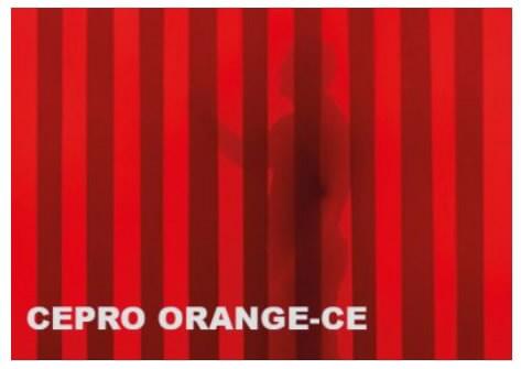 Keevituskardina riba, oranz 300x3mm (rull 50m), Cepro International BV