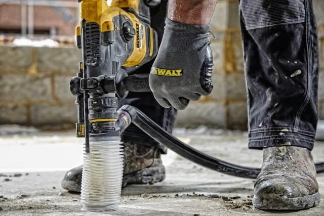 SDS+ Hammer Dust Extraction - Chiseling DWH201D, DeWalt