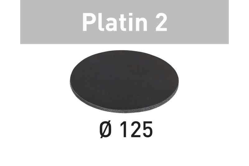 Šlifavimo lapelis Platin 2 STF D125/0 S1000 PL2/ 15 vnt., Festool