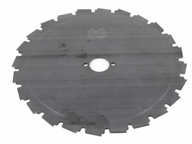 Clearing saw blade 225x25,4x18mm; 224h, EuroGarden