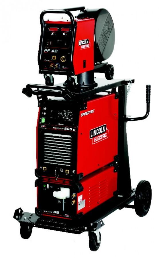 Lincoln Electric Mig Welder >> Semiautomatic Welder Speedtec 405s Pf42 Compl Lincoln Electric Mig Welding Machine Kits