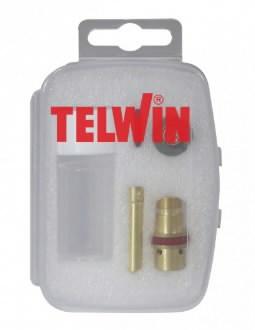 TIG-põleti lisaosade kmpl 1,6mm Crystal Clear Cup-box, Telwin