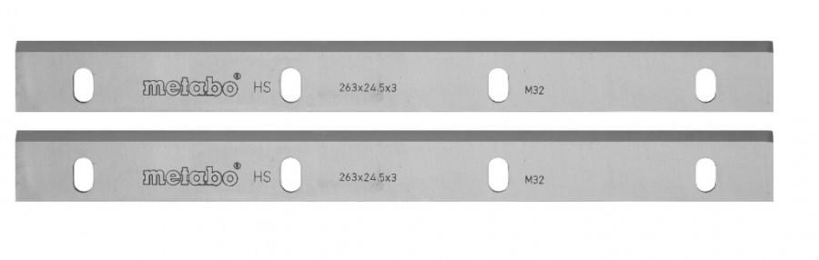 Höövliterad HSS, DH 330-le, 332x12x1,5 mm, teritatavad 2 tk, Metabo