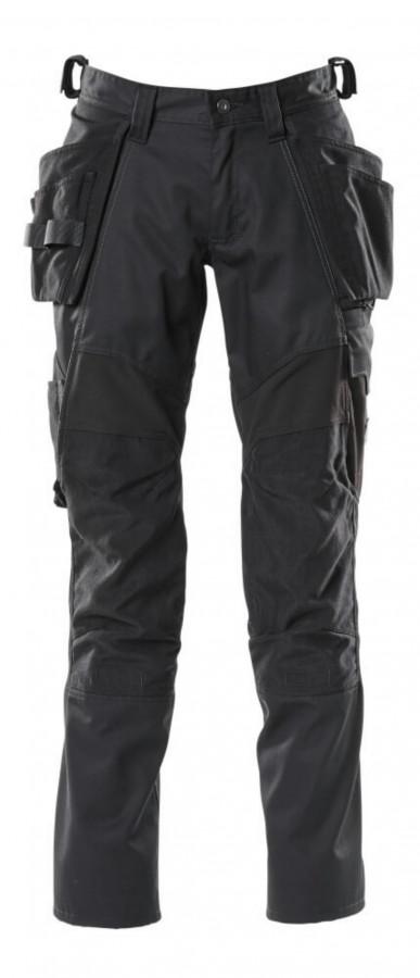 Kelnės  ACCELERATE stretch, juoda, holster pockets 82C58, Mascot