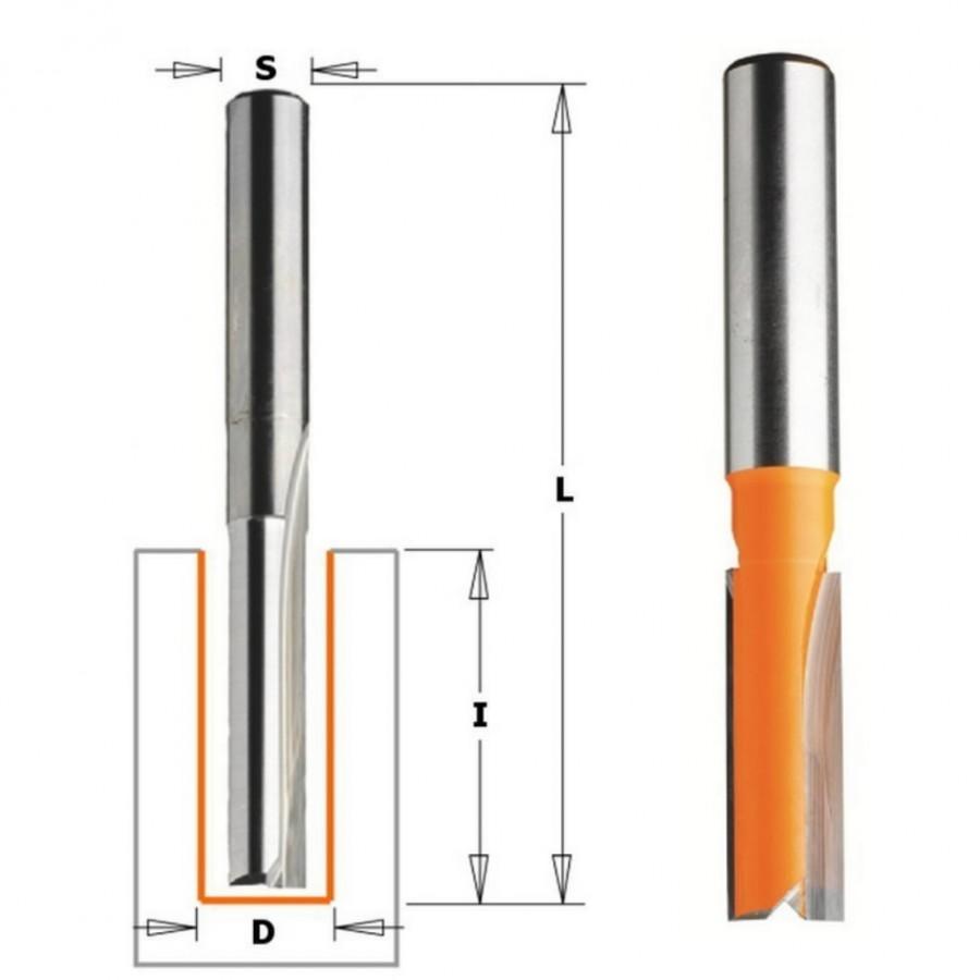 пальчиковая фреза HM S=8 D=15x30, CMT
