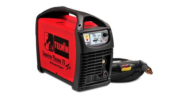 Аппарат плазменной резки Superior Plasma 70, с горелкой 6м, TELWIN