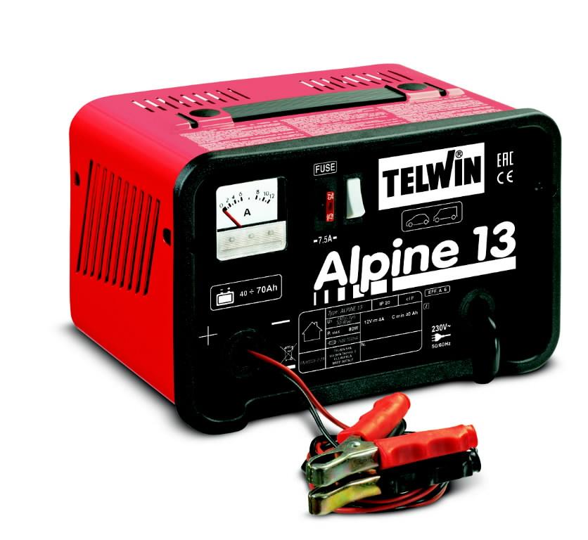 380177ff9d0 12V akulaadija Alpine 13 ampermeetriga, Telwin 807542&TELW , C EAN:  8004897647999