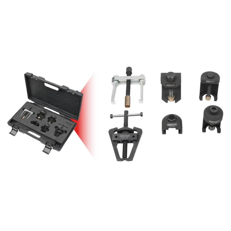 Klaasipuhastaja hoova eemaldamise komplekt, 6-osa, KS Tools