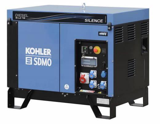 Elektrigeneraator DIESEL 15 LC TA SILENCE C5, SDMO