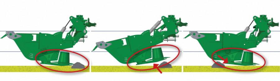 Liblikniiduk McHale ProGlide B9000  (ilma esiniidukita), Mchale