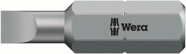 Otsak 1/4´´ 800/1 Z, SL 1,6x8,0x39, Wera