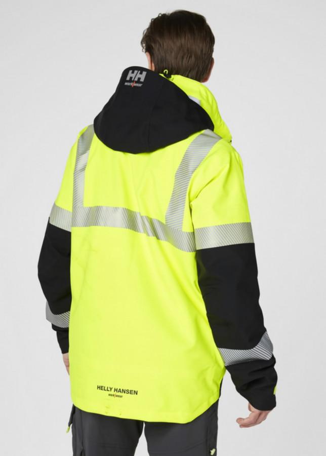 Koorikjope Icu kõrgnähtav CL3, kollane/must XL, Helly Hansen WorkWear