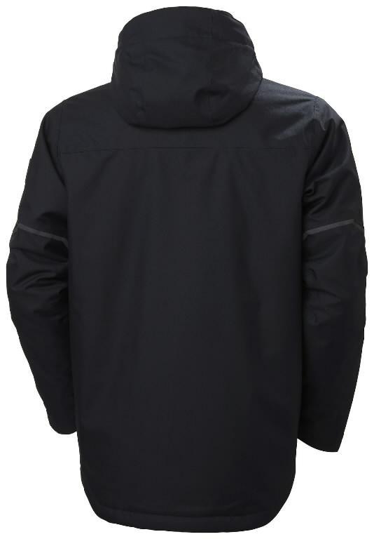 Winter jacket Kensington, hooded, navy M, Helly Hansen WorkWear