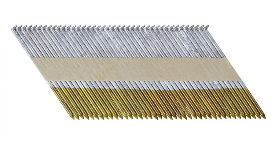Karsti cinkotas naglas 90x3,1 mm, 34° - 1200pcs, DeWalt