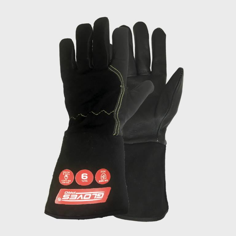 Keevituskindad MIG, must 11, Gloves Pro®
