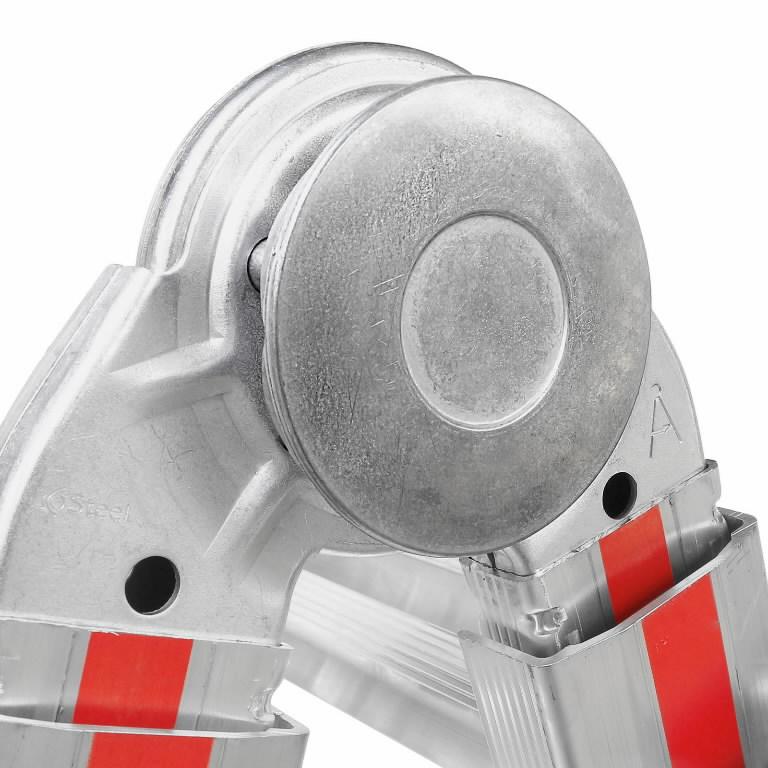 Teleskoopredel 4x6 astet, 3.46–6.26m 8042, Hymer