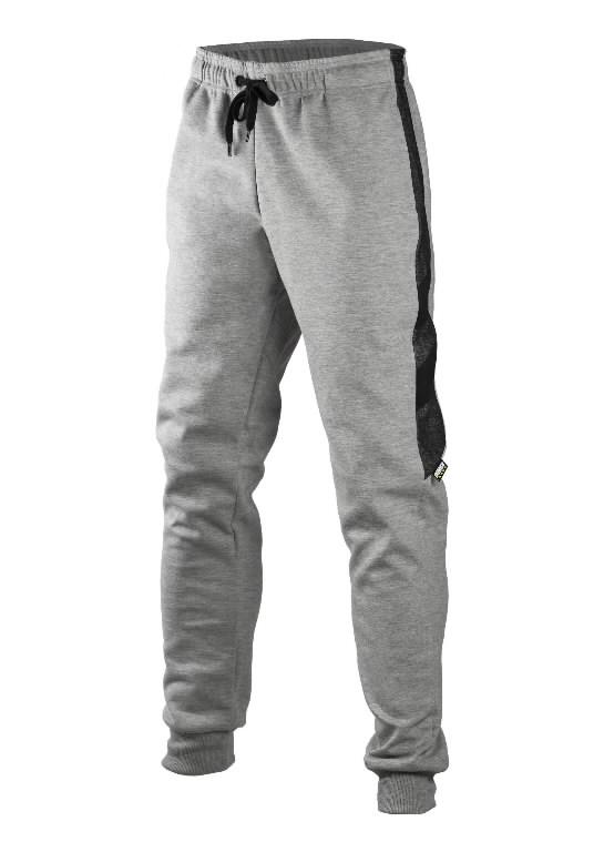 Sweatpants 4359+, grey/black XL, Dimex