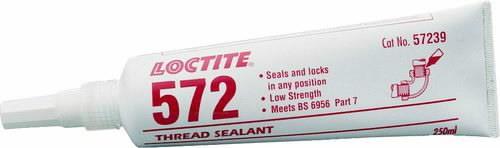 Keermehermeetik torudele  572 250ml, Loctite