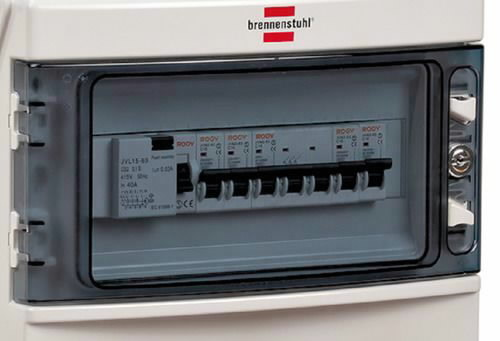 En.plokk  2m BSV 4 IP44  1x32A + 2x16A, Brennenstuhl