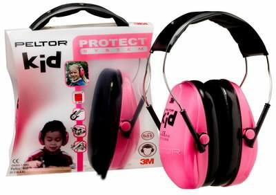 Kõrvaklapid lastele neoon roosa  Peltor KID UU008342717, 3M