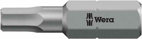 Otsak 1/4´´ 840/1 Z, HEX 1,5x25, Wera