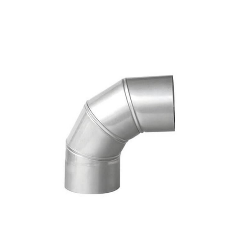 Exhaust elbow, adjustable, 200mm, Master