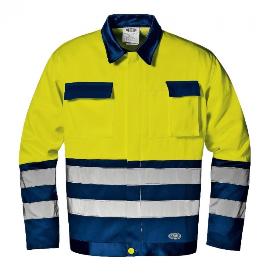 Jakk Mistral kõrgnähtav CL2, kollane/sinine 52, Sir Safety System