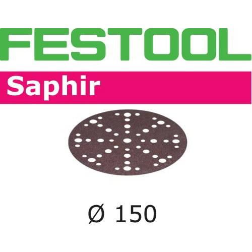Šlif. popierius Saphir STF-D150/48 P24 SA/25 25 vnt., Festool