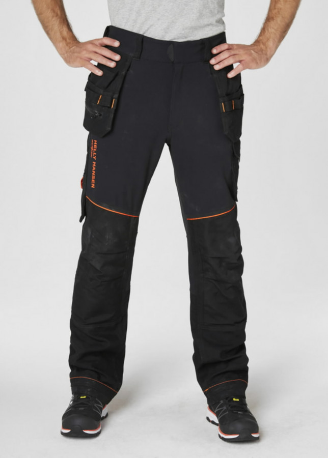 CHELSEA EVOLUTION CONST PANT, black C54, Helly Hansen WorkWear