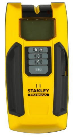 Rakenneilmaisin S300 FM metalli/puu/sähkö, Stanley