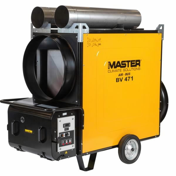 Indirect oil heater BV 471 SR, 136 kW, Master