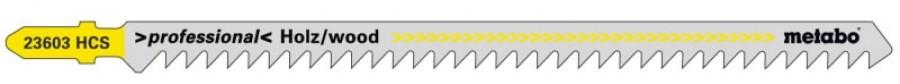 Tikksaetera puidule 4,0/150 mm, HCS - 5tk, Metabo