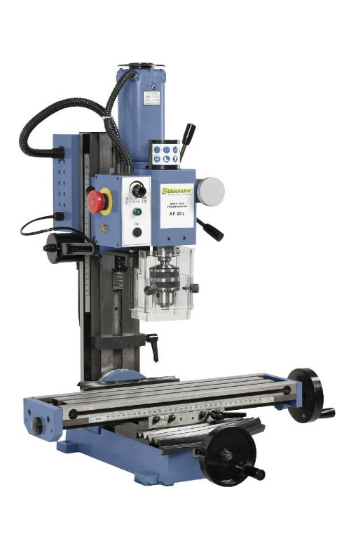 Drilling- and milling machine KF 20 L/230 V