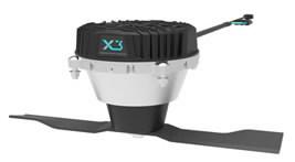 0-pöörderaadiusega elektriline kommertsniiduk ZENITH E SD