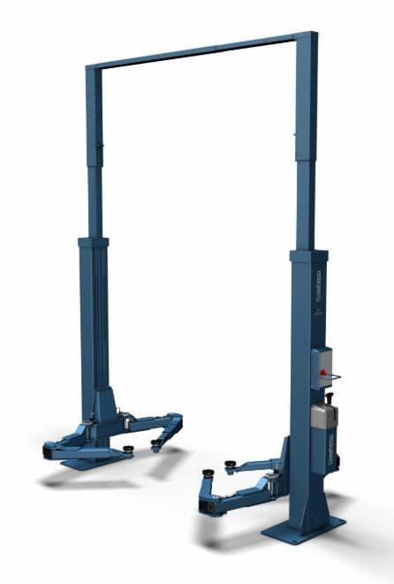 2-post tõstuk POWER LIFT HF 3S 5000 DG, RAL5001, Nussbaum
