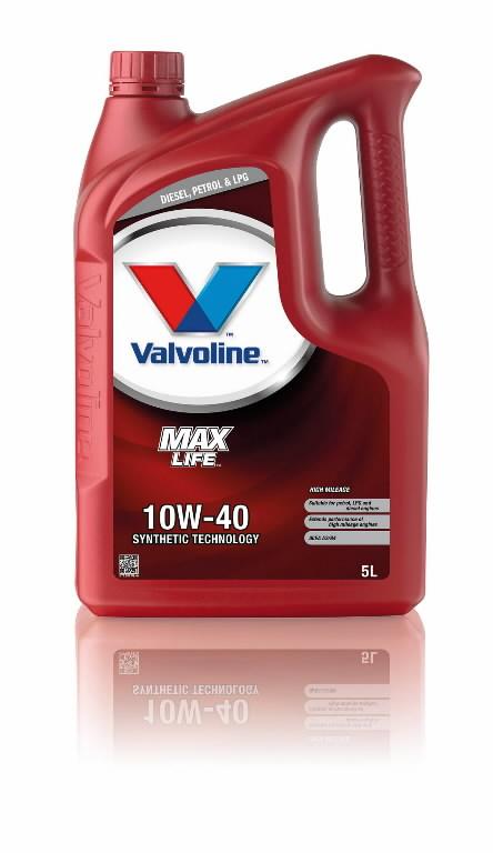 Mootoriõli MAXLIFE 10W40 5L, Valvoline