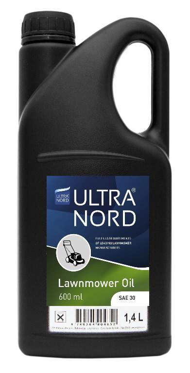 Pļaujmašīnu dzinēju eļļa 4T LawnMower Oil SAE30 1,4L, Ultranord
