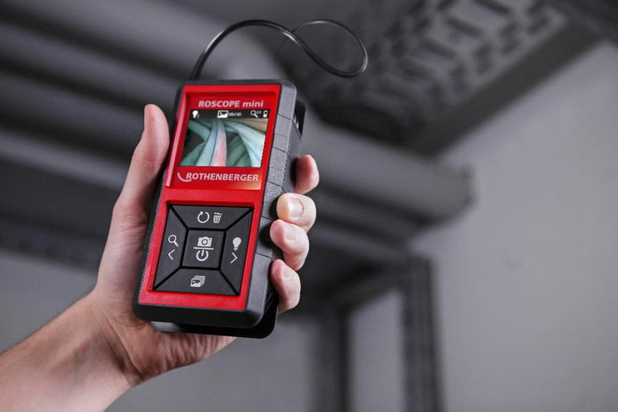 Kontrollkaamera ROSCOPE mini, Rothenberger