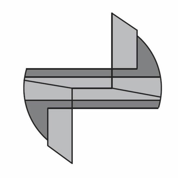 ROUTER CUTTER 30x42x74 Z2+1 RH, CMT