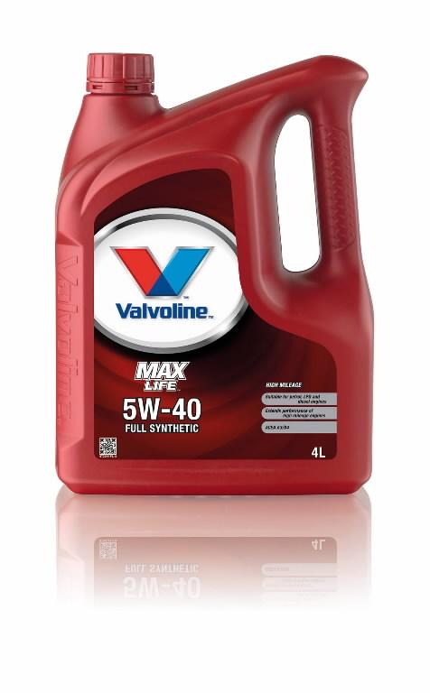 MAXLIFE 5W40 4L, Valvoline