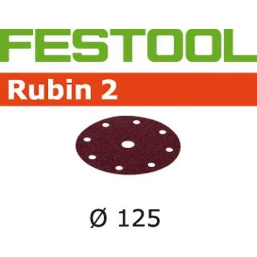 Lihvkettad RUBIN 2 / 125/90 / P120 / 50tk, Festool