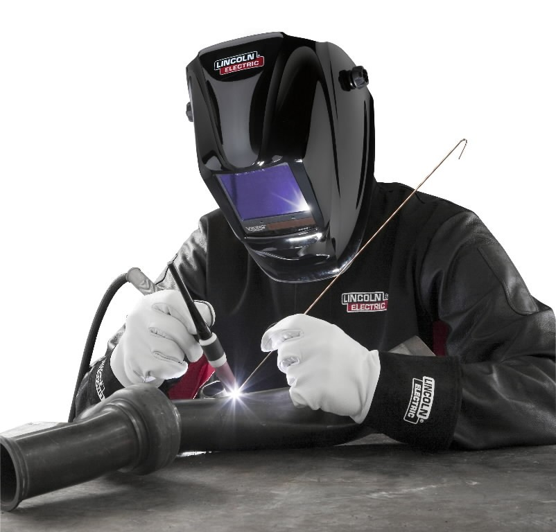 Auto Darkening Welding Helmet Viking 3350 Black Din 5 13 Lincoln Electric Auto Darkening Welding Masks
