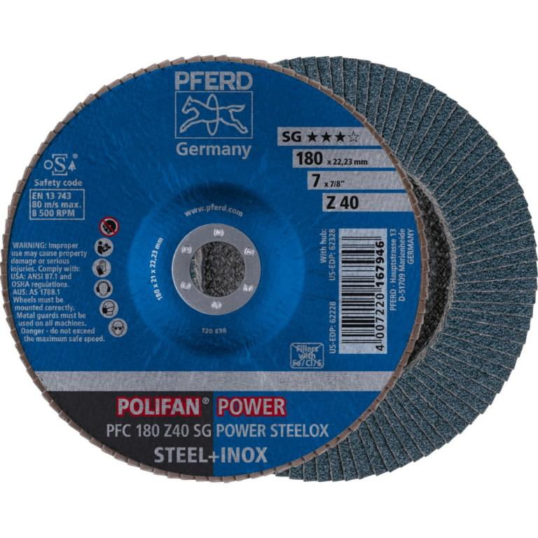 Vėduoklinis diskas PFC 180 Z  40 SG, Pferd