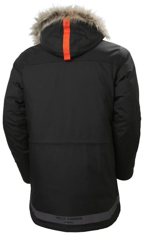 Winter jacket parka Bifrost, hooded, black 2XS, Helly Hansen WorkWear