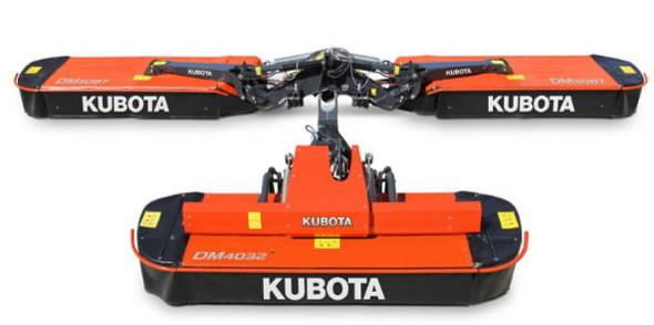 Mower  DM 3087, Kubota