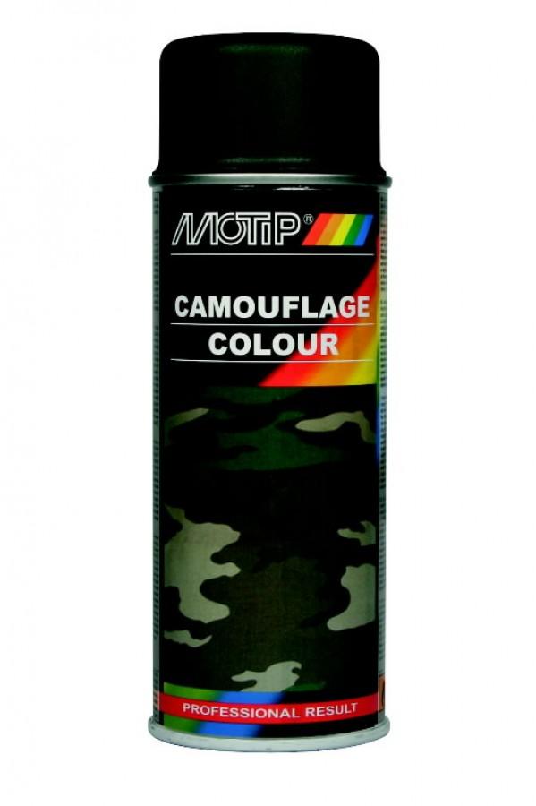Maskeerimisvärv CAMOUFLAGE RAL 6031 roheline 400ml, Motip