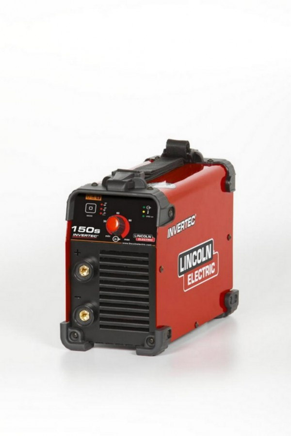 Electrode Welder Invertec 150s In Suitcase Lincoln Electric Inverter Welding Machine