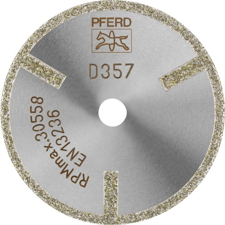Teemantlõikeketas 50x2/6mm D357 GAG D1A1R, Pferd